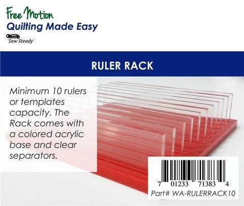 Ruler Rack - 10 Slot