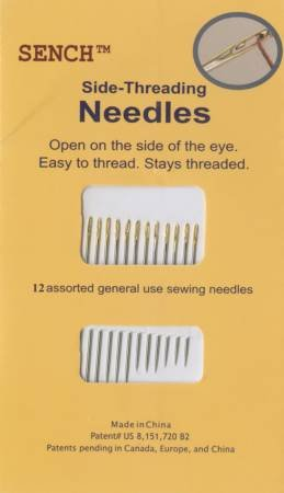 Sench Side Threading Needles