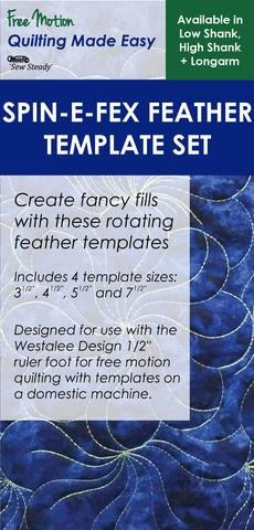 Spin-E-Fex Feather Template Set