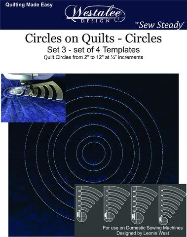 Circles on Quilts + Spinning Wave #6
