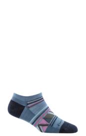 Darn Tough Women's No Show Sock- Light (6002) Gray