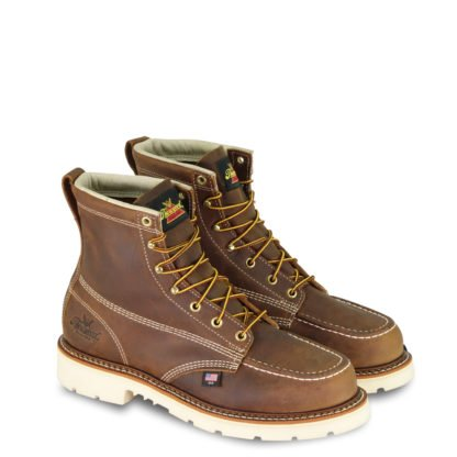 Thorogood Moc Toe Brown Non-Safety 6 (Mens)-814-4203