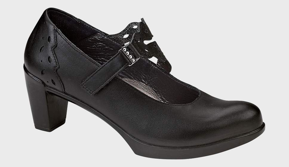 Naot Amato - Matte Black Leather