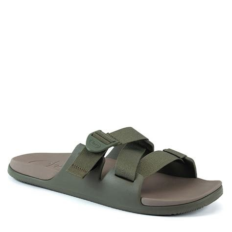 Chaco Chillos Slide- Fossil