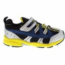 Tsukihoshi Child Speed Sneaker- Silver/Yellow