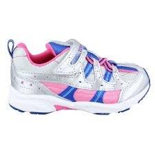 Tsukihoshi Child Speed Sneaker- Silver/Pink