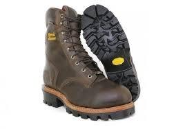 Chippewa Arador Bay Apache Steel Toe- Brown (Mens)