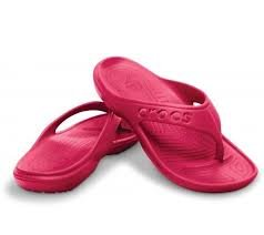 Crocs Baya Flip- Raspberry