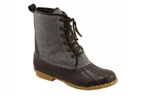 Superior 6 Eye  Felt Duck Boot