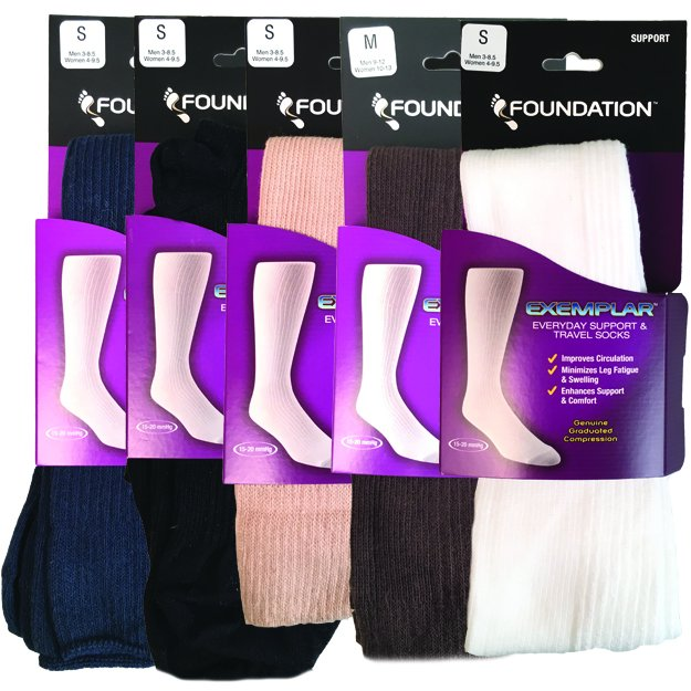 Foundation Exemplar Everyday Compression Sock
