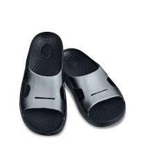 Spenco Mens Fusion 2 Fade Slide-Grey/Black