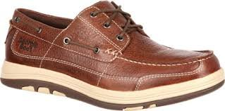 Georgia Tybee Island Boat Style Shoe- Brown
