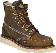 Thorogood Moc Toe Brown Non-Safety 6 (Mens)-814-4203