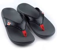 IronMan Orthopedic Sandals- Hoa Black
