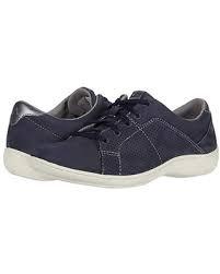 Aravon Lia Tie Sneakers - Blue