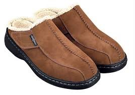 OrthoFeet Asheville Slippers- Tan