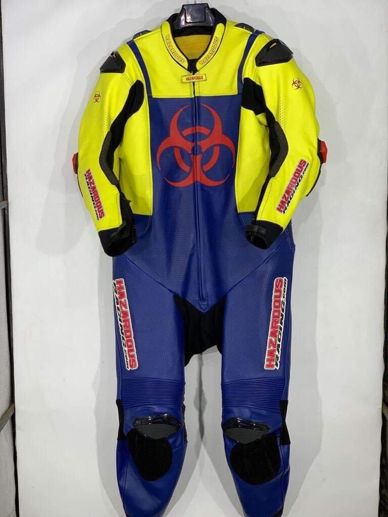 Leather Race Suit Repair