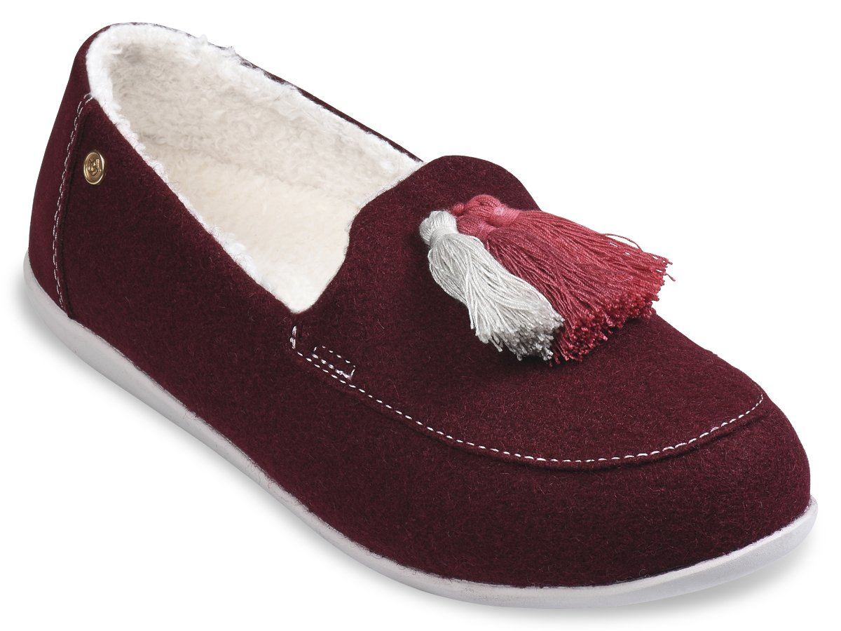 Spenco Hearthside Slipper - Burgundy