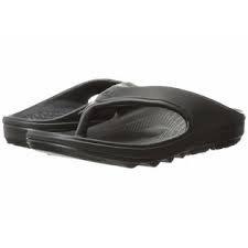 Spenco Mens Fusion Flip Flop- Black