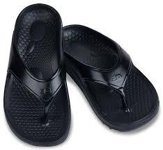 Spenco Womens Flip Flop- Fade Black