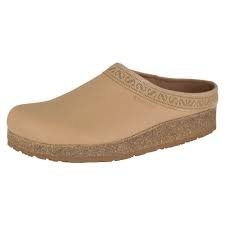 Stegmann Leather Cork Clog- Tan