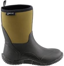 Superior Neoprene Boots- 10 Brown/Black