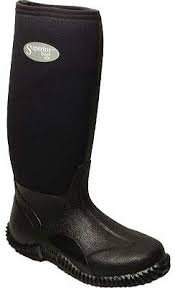 Superior Neoprene Boots- 14 Black