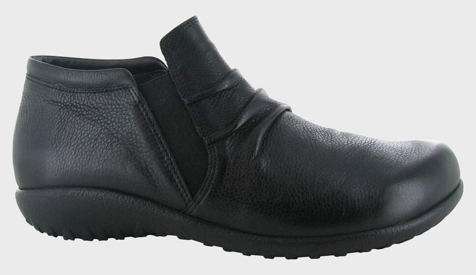Naot Terehu - Soft Black Leather