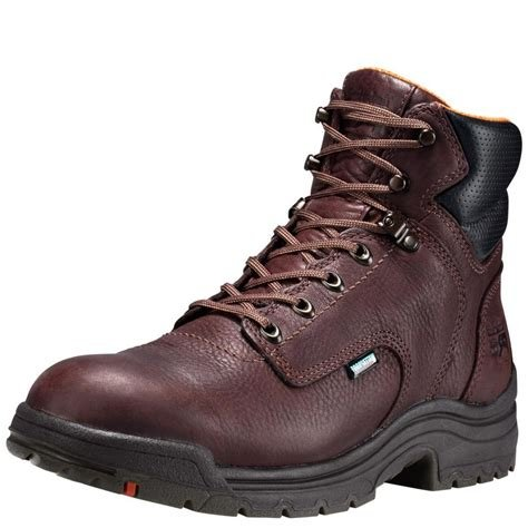 Timberland Pro Titan 6 Alloy Toe Waterproof- Dark Brown