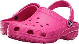 Youth Crocs- Hot Pink