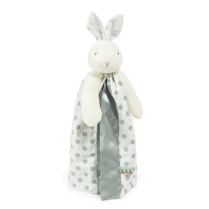 Blanket Bloom Dot Bunny Grey