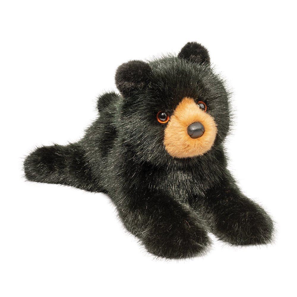 Plush Black Bear