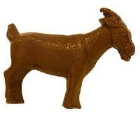 Papa Goat - 7oz milk chocolate goat