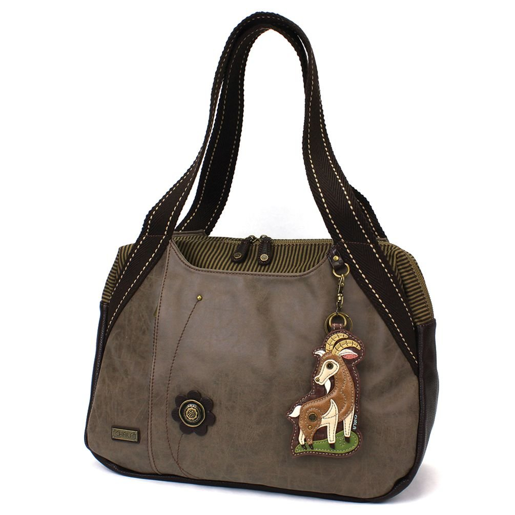 Bowling bag with goat coin purse