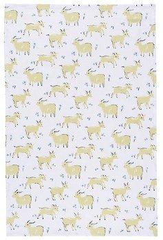 Goat dish towel