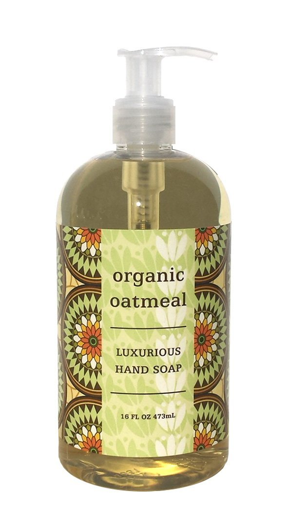Liquid soap - organic oatmeal 16oz