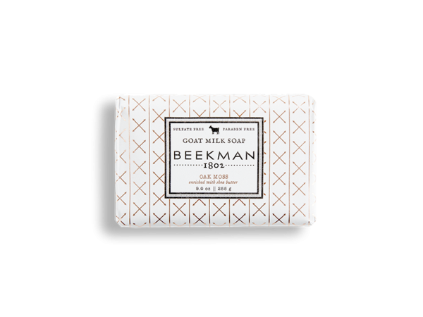Beekman soap bar - Moss 9oz
