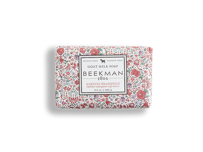 Beekman soap bar - honey grapefruit 9oz