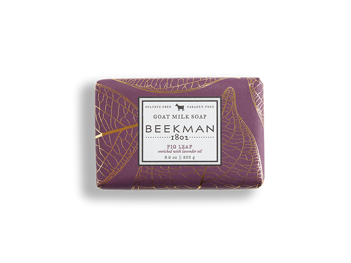 Beekman soap bar - Fig Leaf 9oz