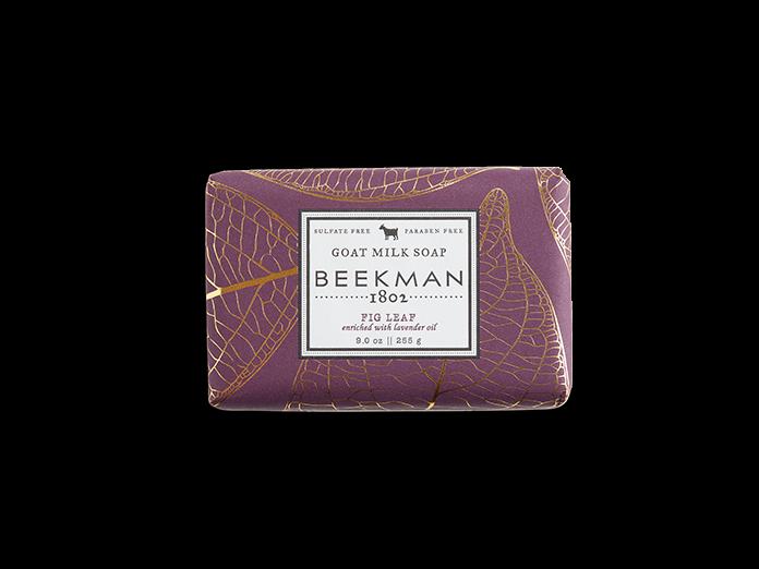 Beekman soap bar - fig leaf 9oz