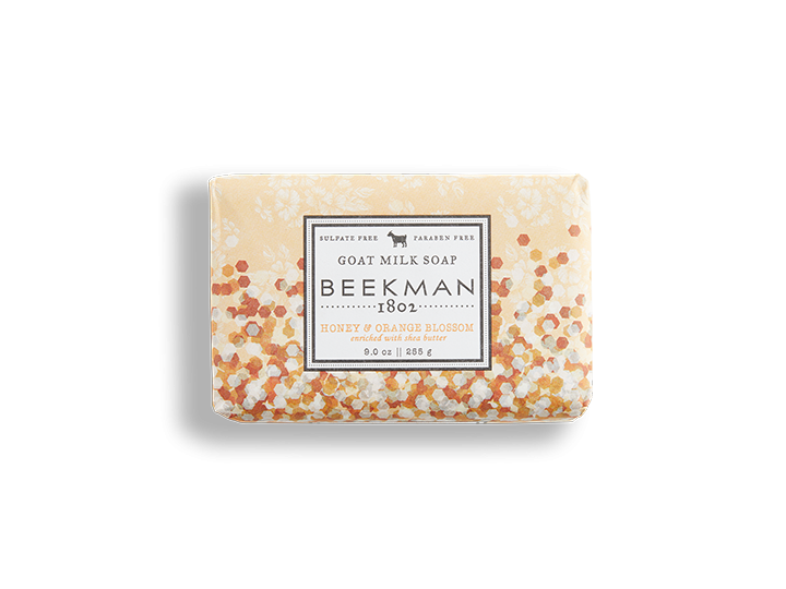 Beekman soap bar -  Honey Orange 9oz