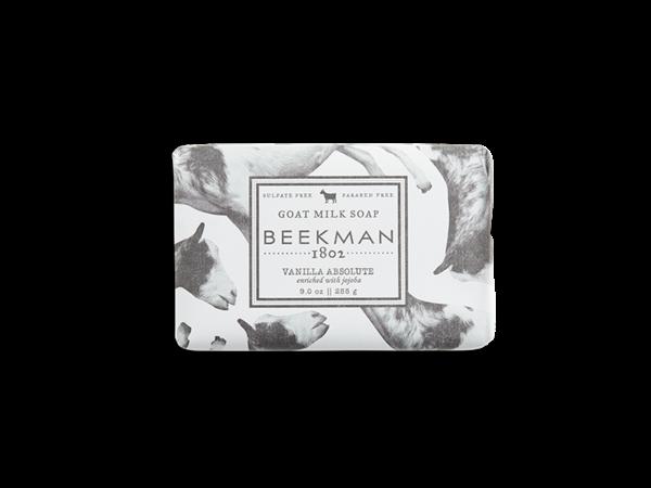 Beekman soap bar - Vanilla Absolute 9oz