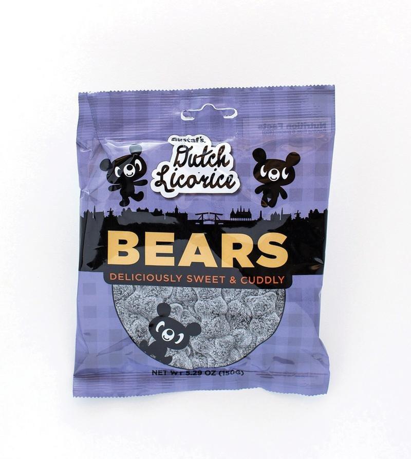 Licorice Bears 5.29 oz bag