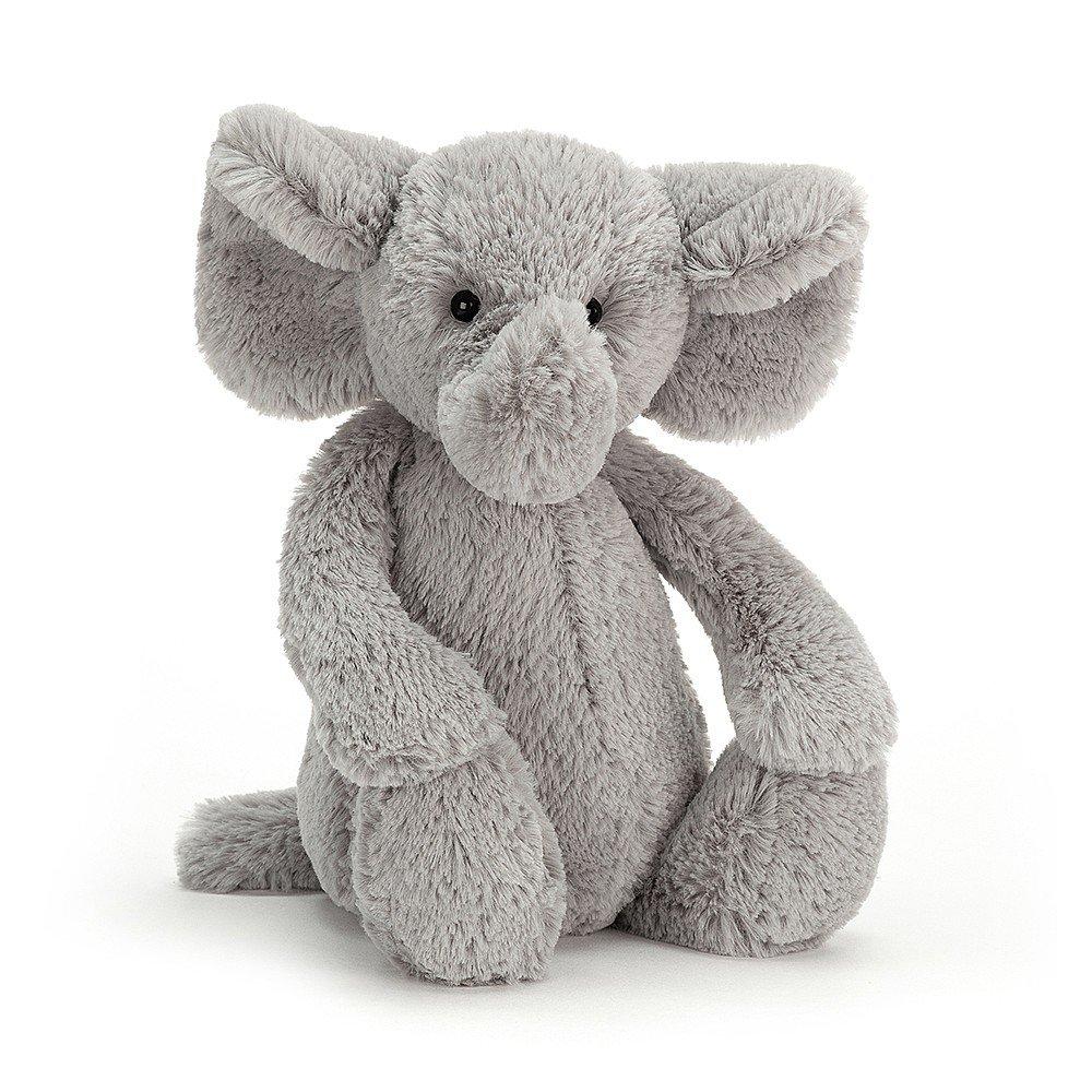 Plush Bashful Elephant