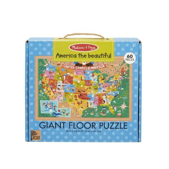 Puzzle America the Beautiful 60 pieces