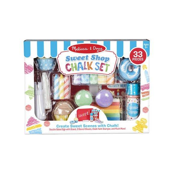 Chalk set - Sweet Shop 33 pieces