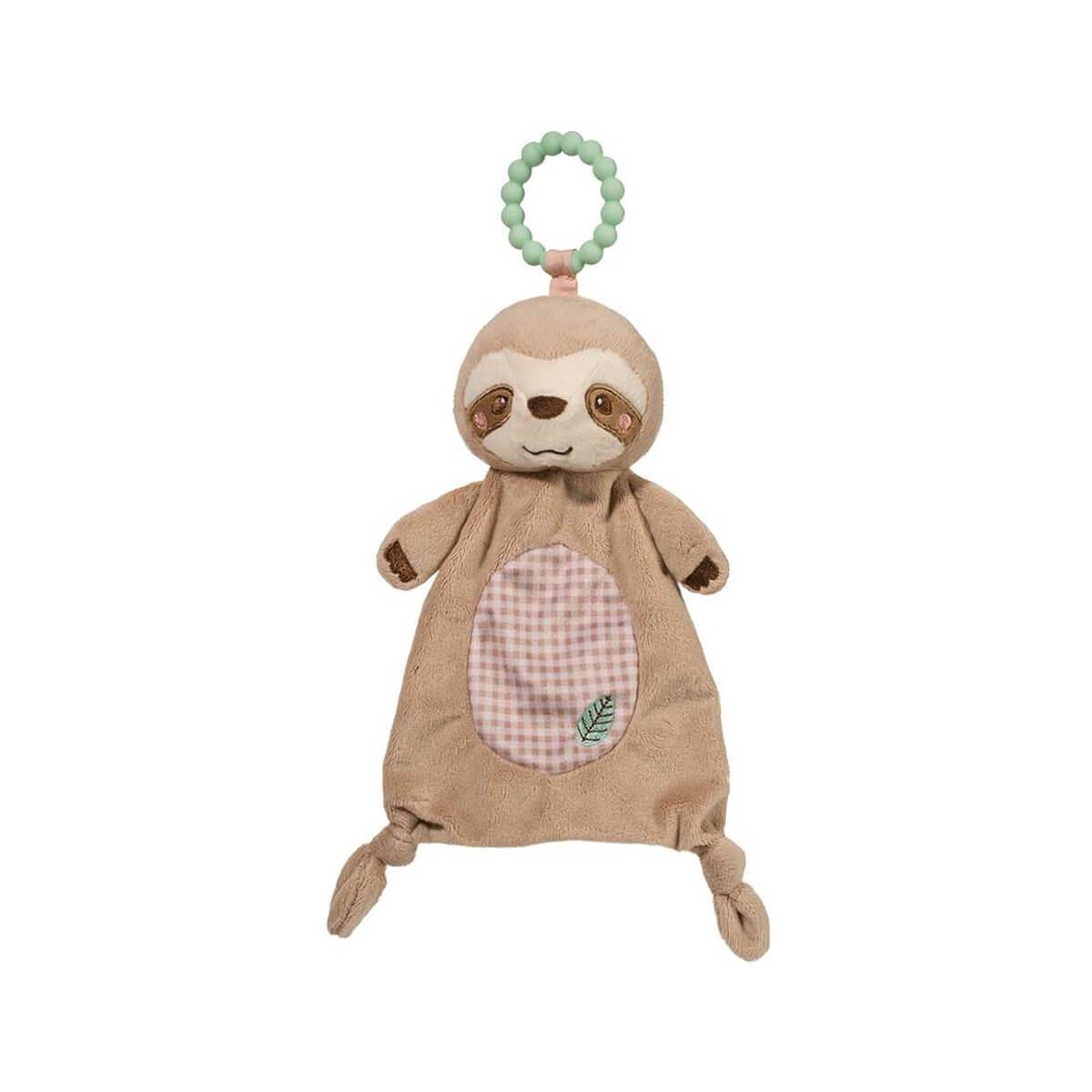 Plush Sloth Teether