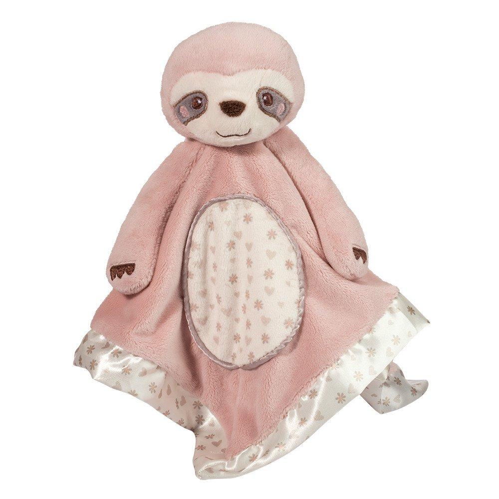 Plush Sloth Snuggler in pink
