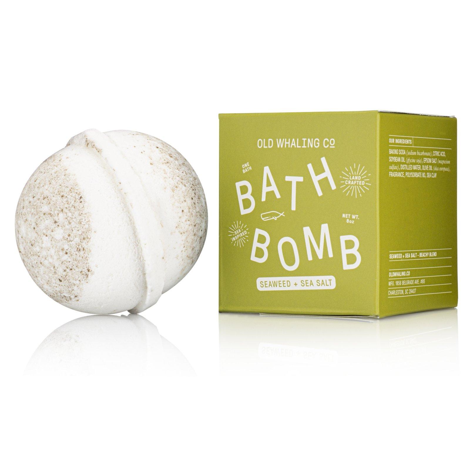 Bath Bomb Seaweed & Seasalt 8 OZ