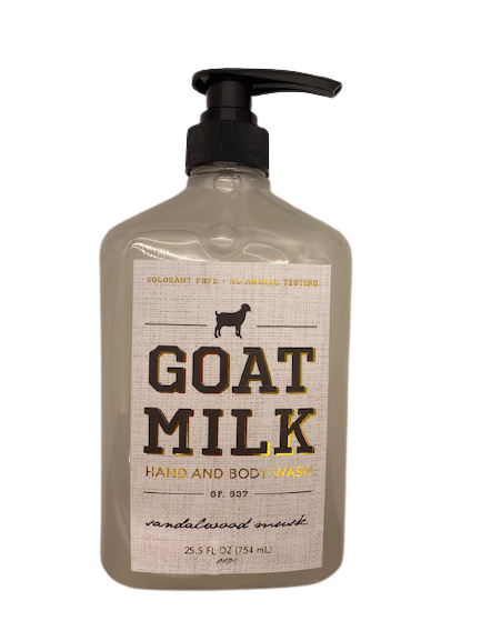 Hand & Body Wash Goat Milk  Sandalwood & Musk 25.5 oz